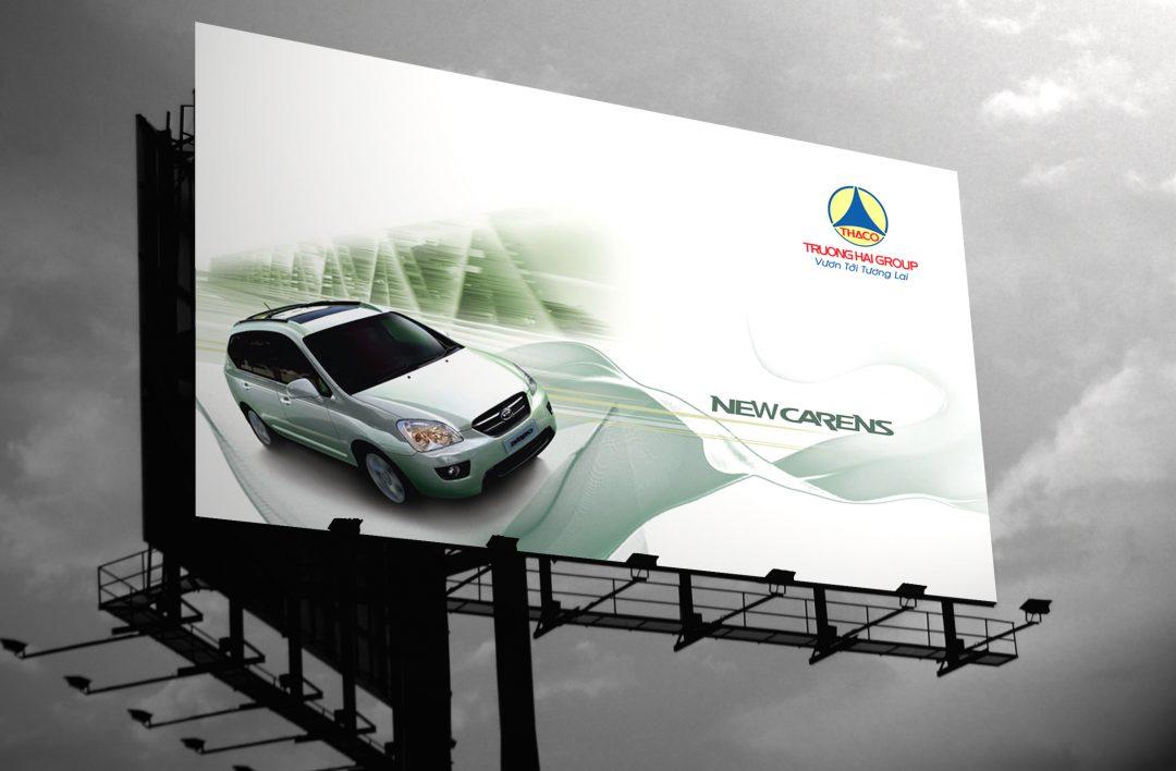 car billboard