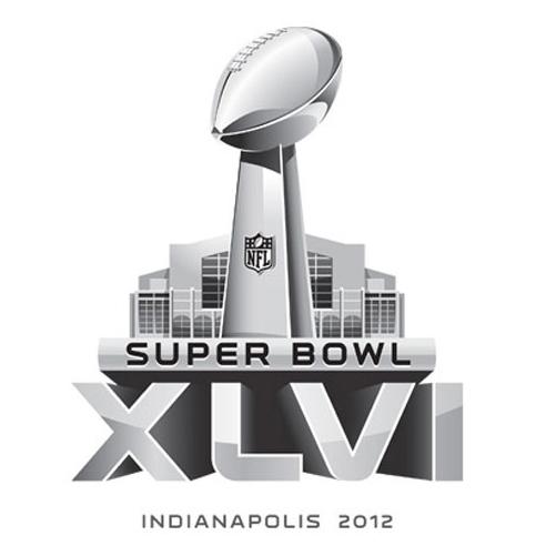super bowl xlvi 2012 logo