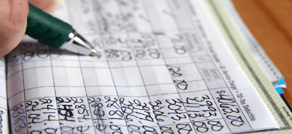 balance checkbook percent statistics