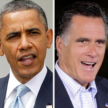 barak obama vs mitt romney polls