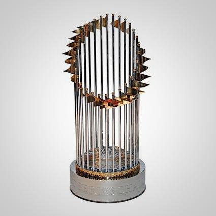 baseball world series trophy pennant mlb