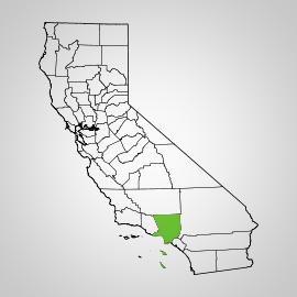 los angeles county california
