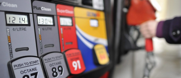 gasoline pump prices