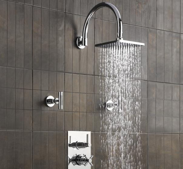 water usage shower