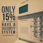 Home Security Alarm System Statistics