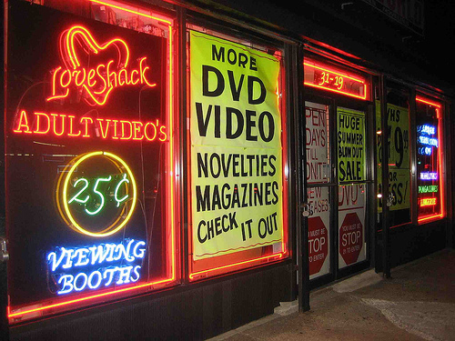 adult entertainment stores