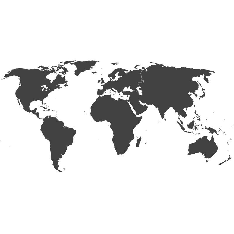 World Map Black And White Tumblr.  Global Continent Statistics Statistic Brain