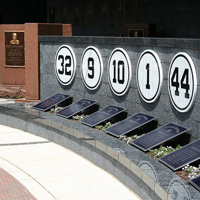 d12f015f7 List of Major League Baseball Retired Numbers - Statistic Brain