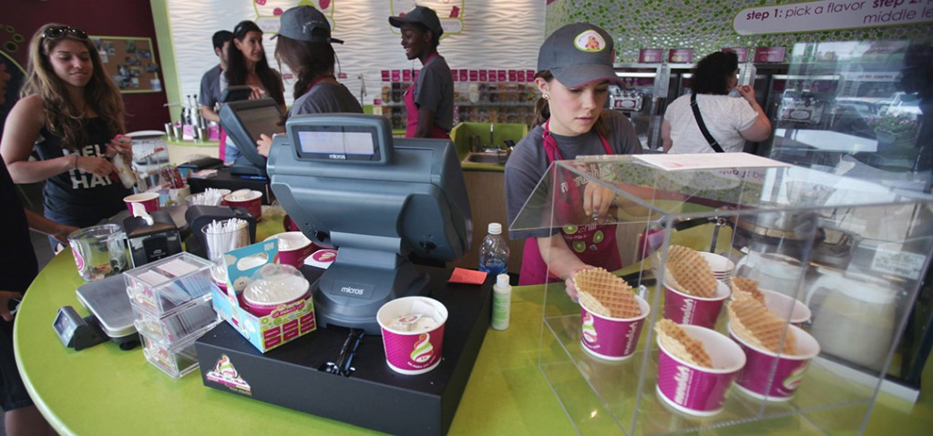 frozen yogurt industry statistics