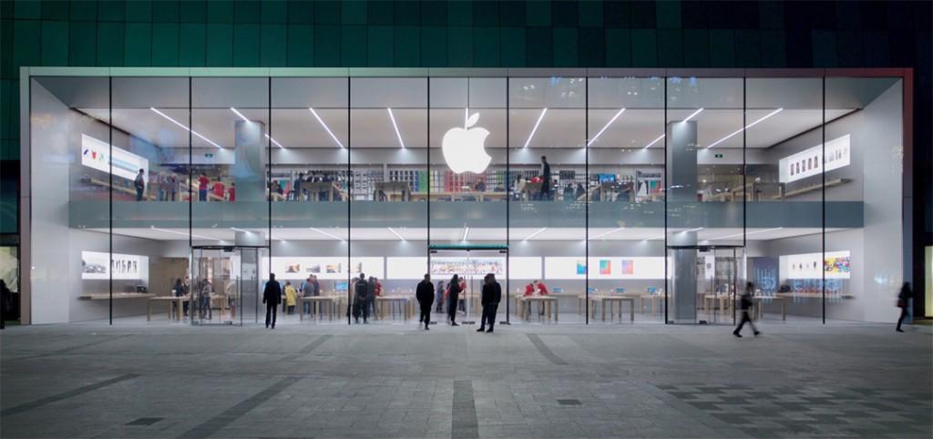 apple computer company sales statistics