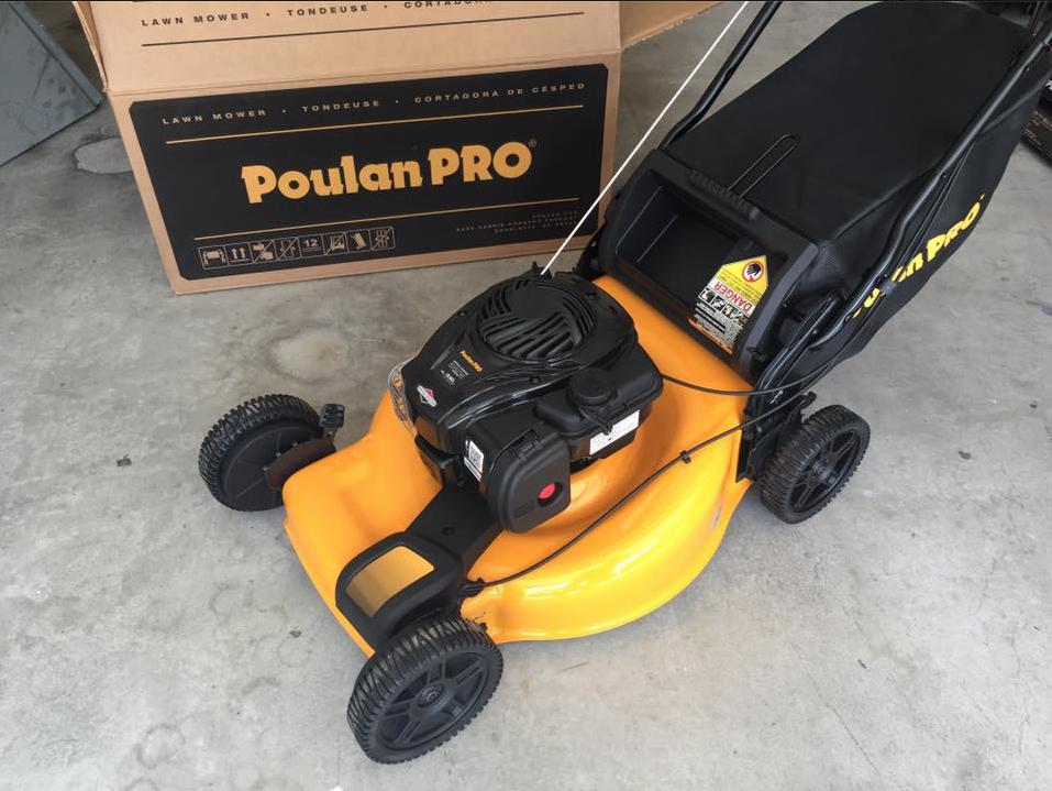 Poulon pro broken mower